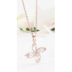 Silverfärgad stjärna med pärla
